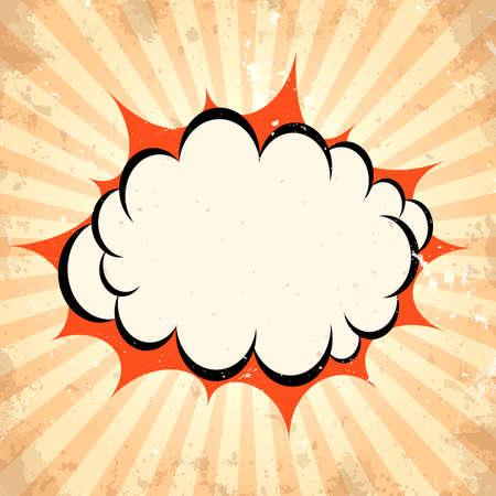 pow: Boom pow cloud background