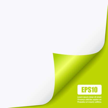 fold: Fold curled page corner