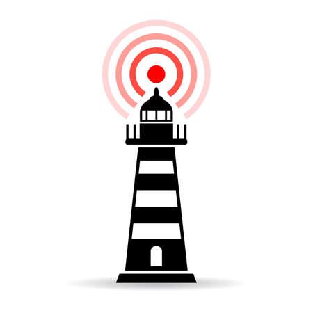 illuminative: Lighthouse pictogram