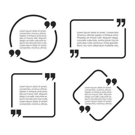 rounded: Text quote frame