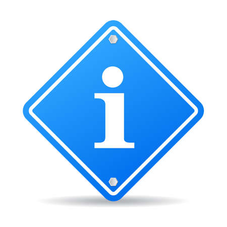 informative: Info sign Illustration