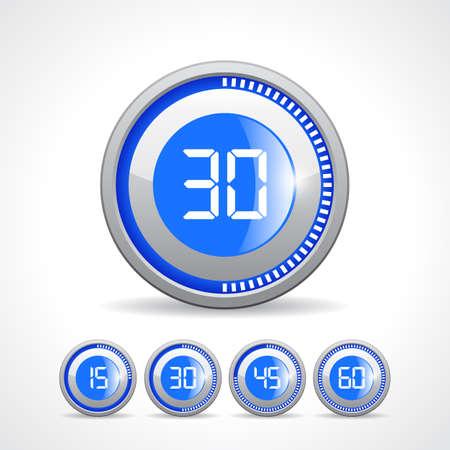 metering: Timers 15 30 45 60 min