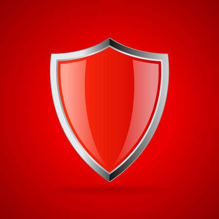 Red sicheren Schild-Symbol