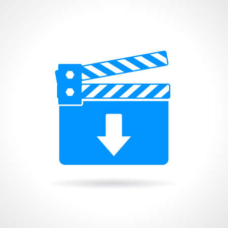 downloads: Download video icon