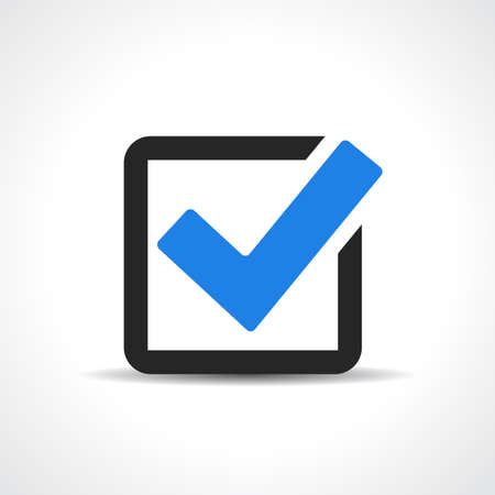 Tick approval icon