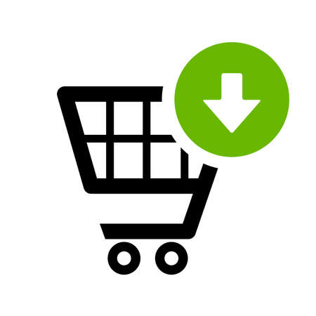 Add to cart icon Vector Illustration