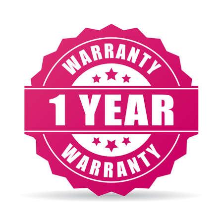 One year warranty icon