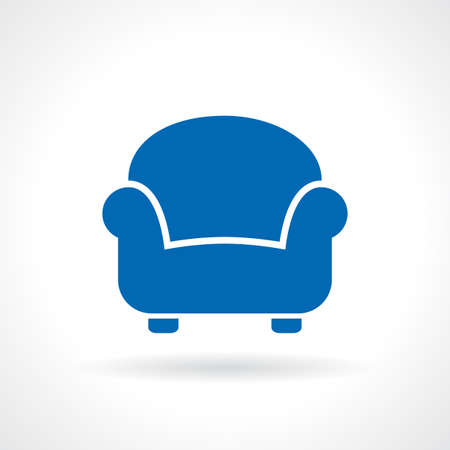 easy chair: Armchair icon