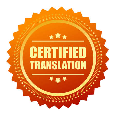 attested: Certified translation gold seal