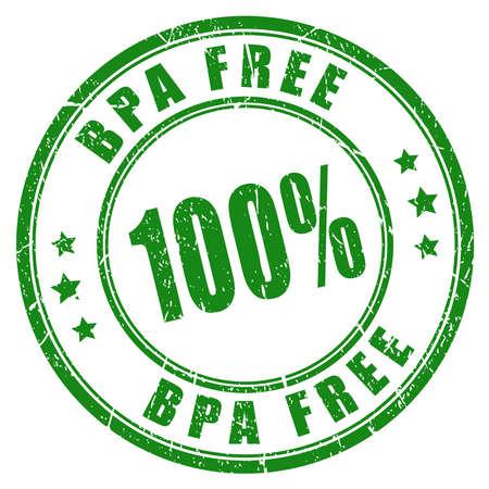 bisphenol a: 100 bpa free stamp