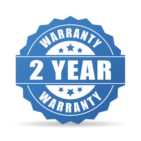 2 years warranty icon