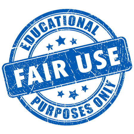 cite: Fair use rubber stamp Illustration