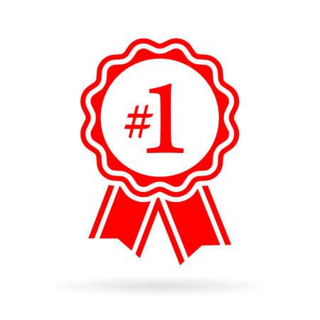 numero uno: Número de precinto de un premio