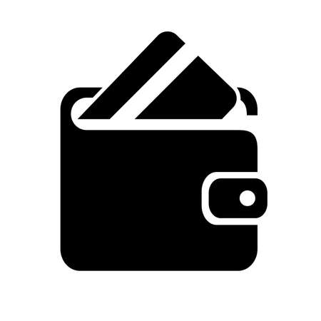 pocket book: Wallet vector icon
