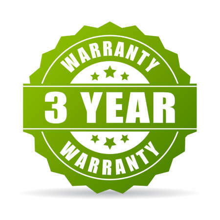 warranty: 3 years warranty icon