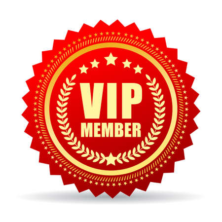 private club: Vip member icon