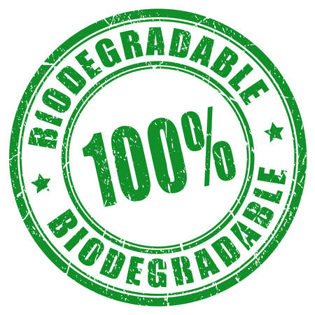 biology: 100 biodegradable stamp
