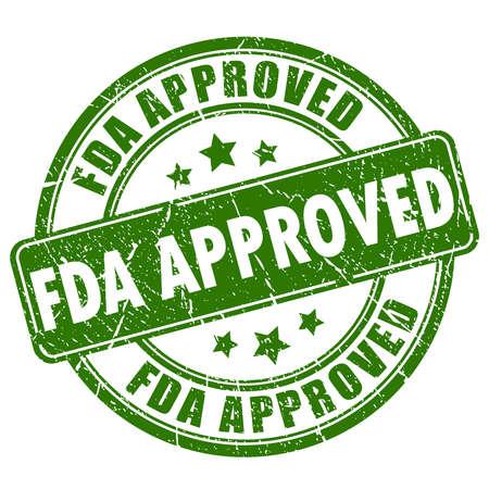 FDA goedgekeurd stempel Stockfoto - 55145121