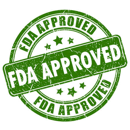 Fda approved rubber stamp