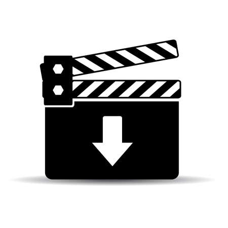 sign maker: Download video icon