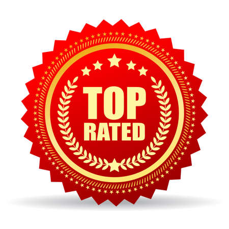 top class: Top rated product seal