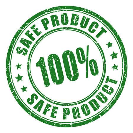 sello de caucho producto seguro