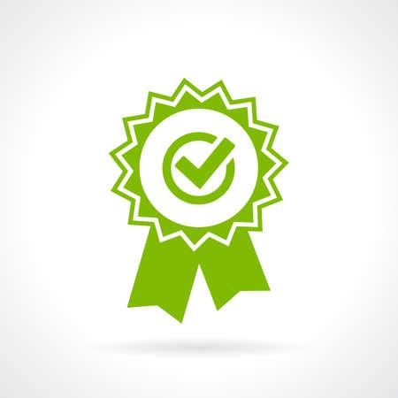 Kwaliteit garantiebewijs Vector Illustratie