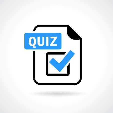 quiz: Quiz vector icon