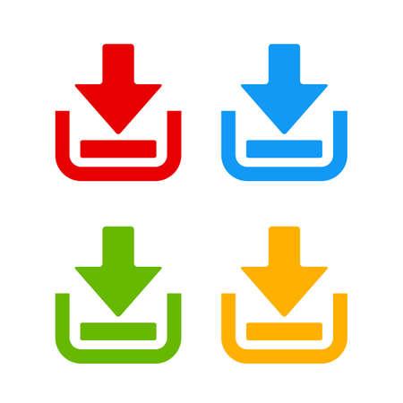 green it: Download web pictogram Illustration