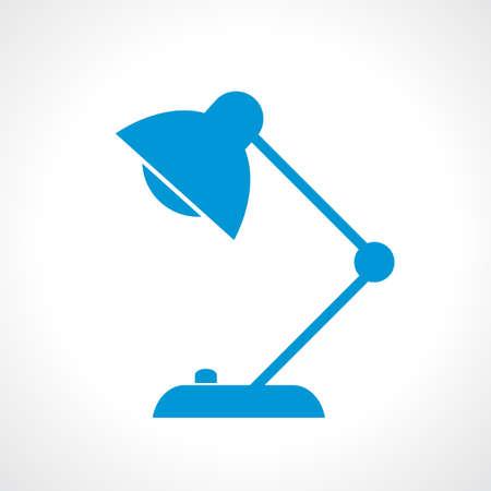 Lampe de bureau icône