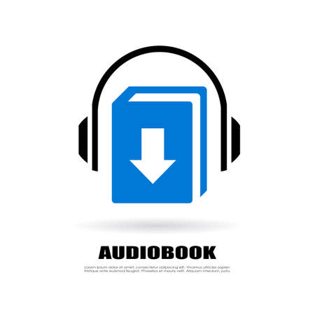 audiobook: Download audiobook icon