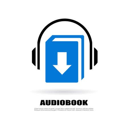 book mark: Download audiobook icon