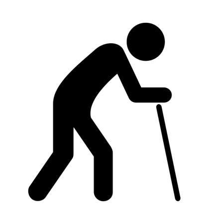 icone vettoriali Old man