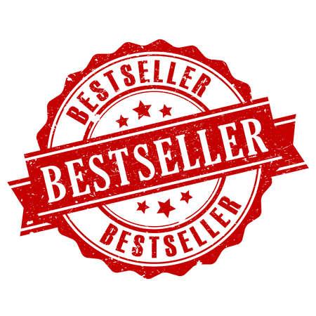 top seller: Bestseller vector stamp
