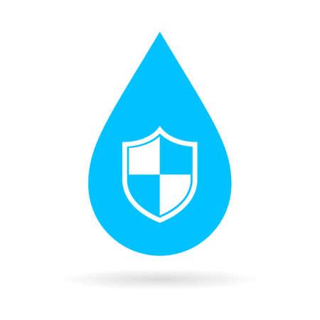 Waterproof vector icon
