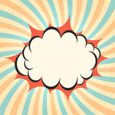 twirling: Pow cloud twirling background