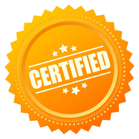 principled: Certified gold seal icon