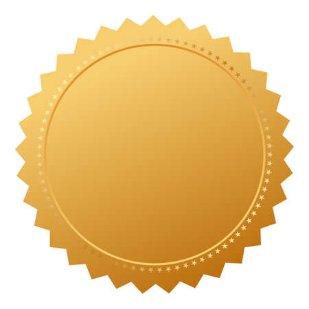 truthful: Blank agreement gold seal
