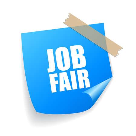 Job Fair adesivo