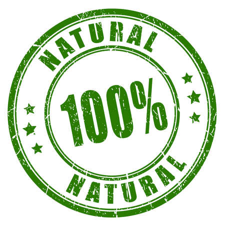 100 timbro di gomma naturale