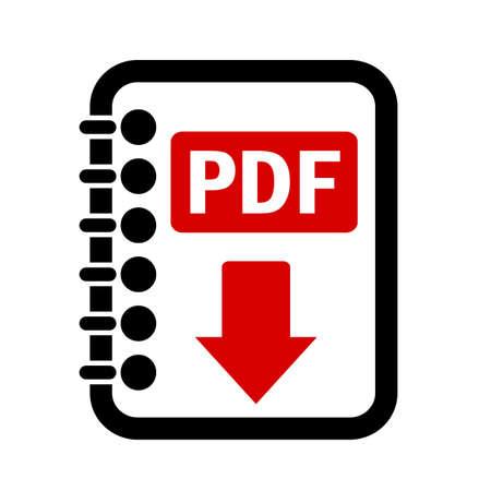 download button: Pdf file download button