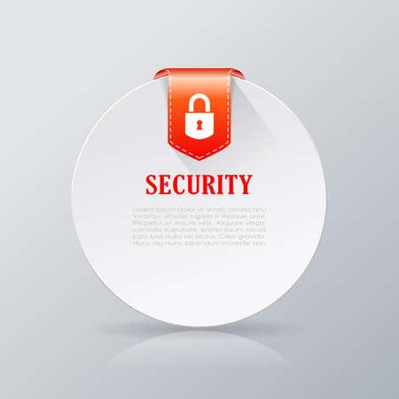 forewarn: Security notice card