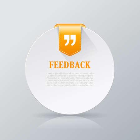 feedback: Feedback round card