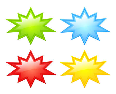 Color stars icons