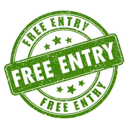 entry: Free entry rubber stamp