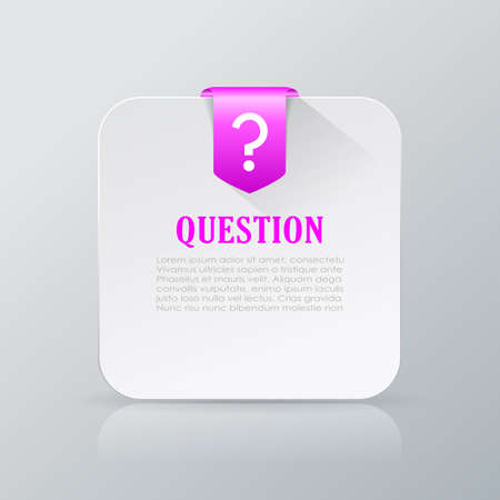 Question info card