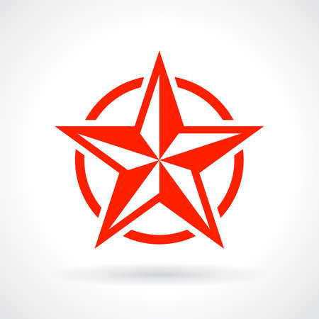 art logo: Red star icon