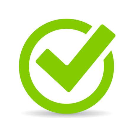 緑色のチェック マークのチェック ボックス 写真素材 - 57592217