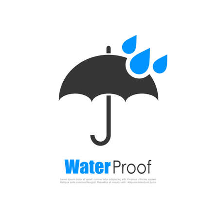Water proof logo