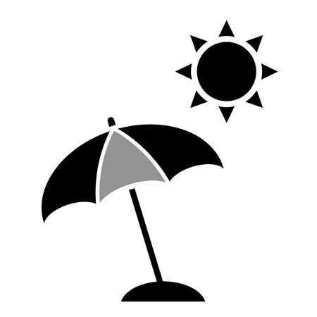 openair: Beach umbrella icon